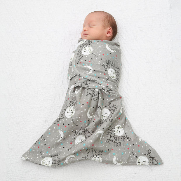 3PK Bundle Goodnight Moon Zippy Swaddle