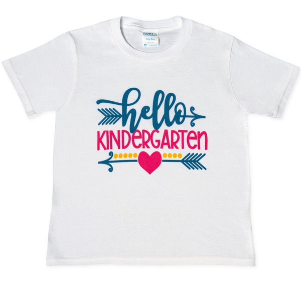 Hello Kinder Tees