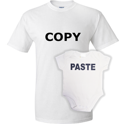 """Copy/Paste"" One Piece"