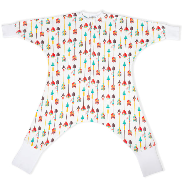 Arrows pattern baby pajamas