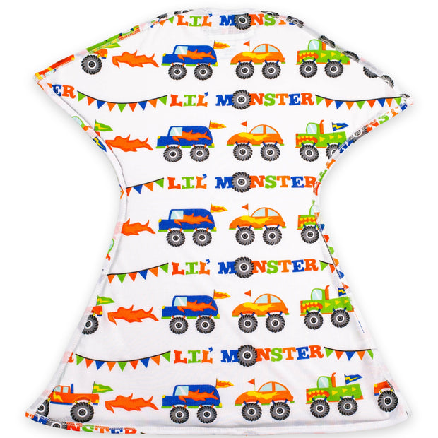 Lil Monster Trucks Zipadee-Zip - Lightweight
