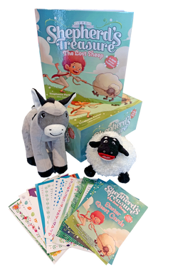 The Lost Sheep Book/Animal set with Quest Cards