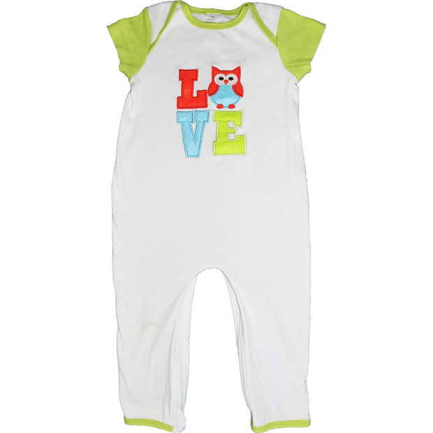 Owl baby one piece