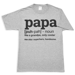 Papa Meaning Mens T-Shirt