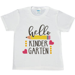 Kinder Pencil Tees