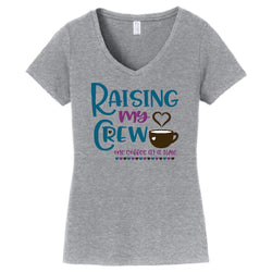Raising My Crew in Color Shirt