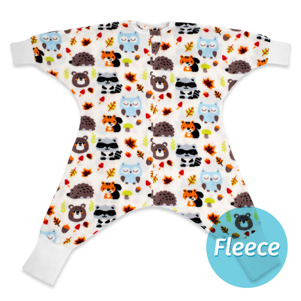 Raccoon Friends Flying Squirrel - Fleece