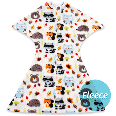 Raccoon Friends Zipadee-Zip - Fleece