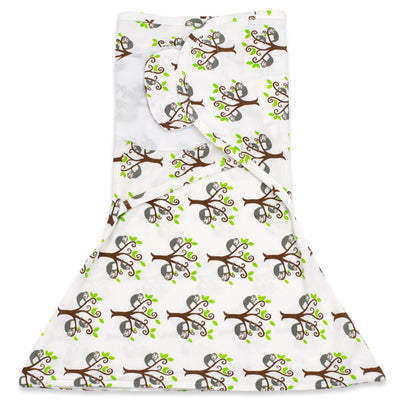 Sloth In A Tree Zippy Swaddle