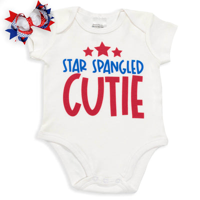 Star Spangled Cutie Baby Bodysuit