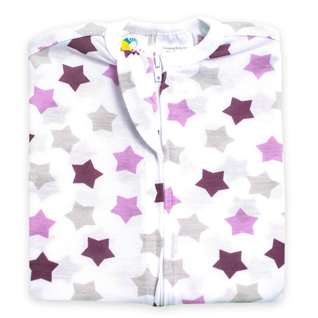 Starry Purples Zipadee-Zip - Lightweight
