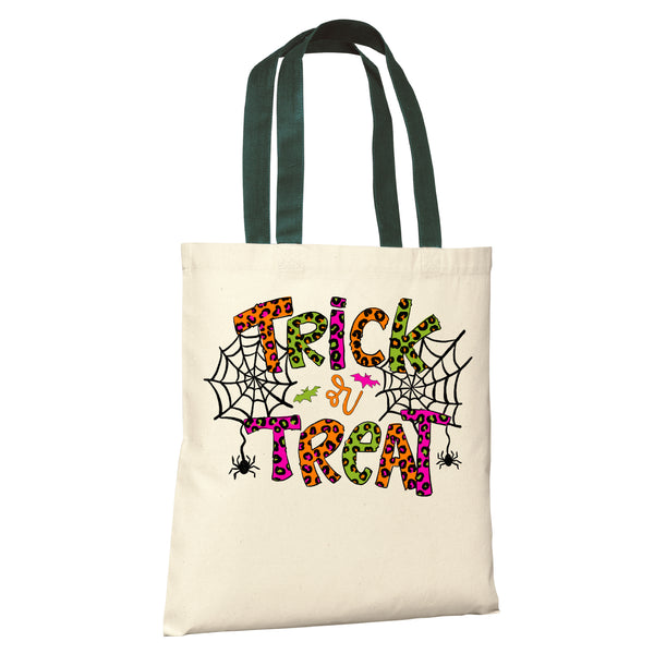 HALLOWEEN Candy PERSONALIZED Treat Bags Tote - Trick or Treat