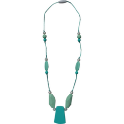 Pendant Teething Necklace in Turquoise