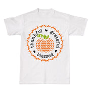 Thankful Grateful Blessed Fall Pumpkin Women's T-Shirt
