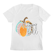 Happy Fall Women's Fashion T-Shirt
