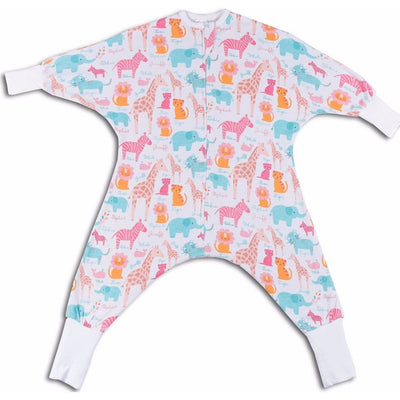 Zoo pattern toddler pajamas