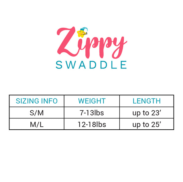 2PK Bundle Lots of Love Zippy Swaddle