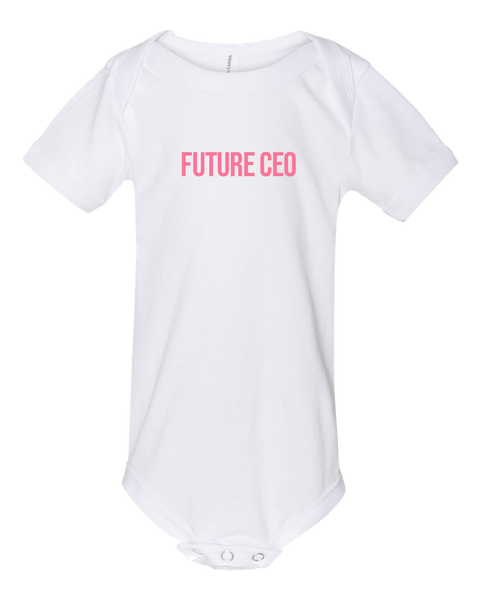 Baby Onesie - Future CEO