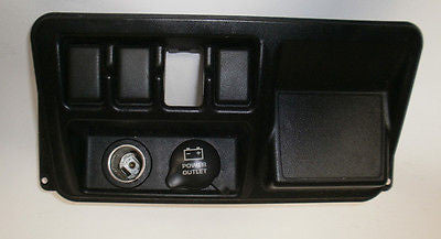 Jeep Wrangler TJ Bezel Switch Panel Lower 3 blanks dash console  2003-2006