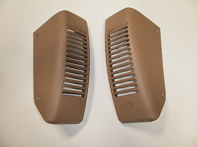 Jeep Wrangler TJ Camel Tan RH + LH  Dash Speaker Cover Vent 97-06 Set