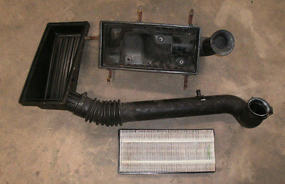 Jeep Wrangler TJ Assembly Air Cleaner Intake Filter Box Hose Tube 97-04 4.0 6cyl