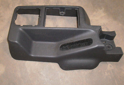 Jeep Wrangler TJ Front Center Shift Console 2002-2004 Slate Cup Holder OEM