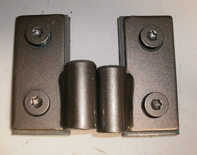 Jeep Wrangler TJ Lower Door Pin Hinges Bracket 97-06 Set OEM Light Khaki
