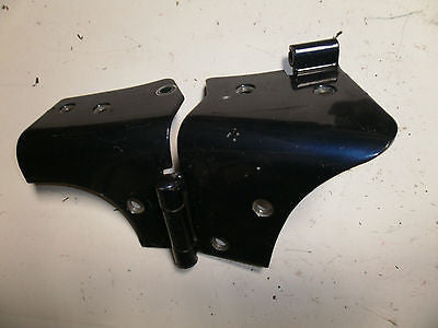 Jeep Wrangler TJ Windshield Door Frame Hinge Left Side 97-06 LH Patriot Blue