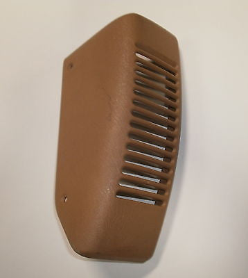 Jeep Wrangler TJ Saddle Tan LH Passenger Dash Speaker Cover Vent 97-06 OEM
