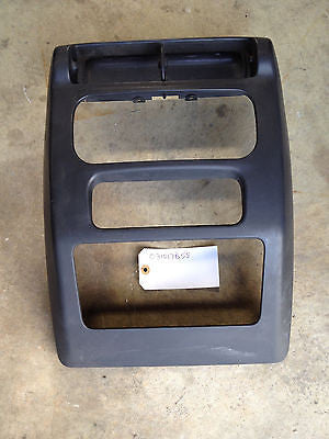 Jeep Wrangler TJ Radio Bezel Shroud 03-06 Dash Vent Surround OEM