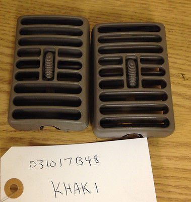 Jeep Wrangler TJ AC Vent Air conditioning Heat Louver 97-06 Set LH RH Khaki