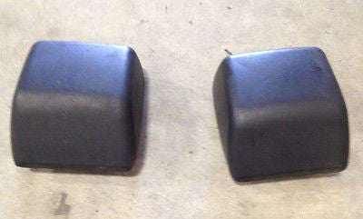 Jeep Wrangler TJ Front Bumper Impact Pads 97-06 OEM Stock Ships Free Used Pair