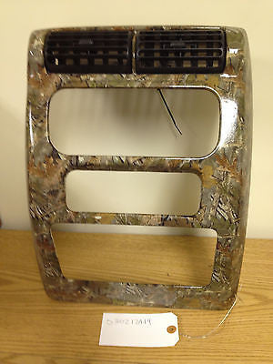 Jeep Wrangler TJ Radio Bezel Shroud 03-06 Dash Vent Surround OEM Custom Camo