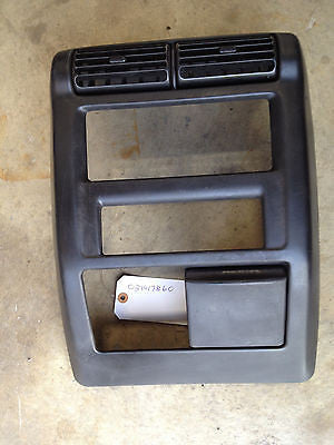 Jeep Wrangler TJ Radio Bezel Shroud 97-02 Dash Vent Surround OEM with a/c vents