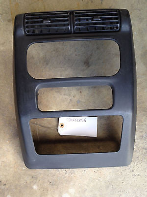 Jeep Wrangler TJ Radio Bezel Shroud 03-06 Dash Vent Surround OEM with a/c vents