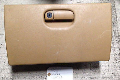 Jeep Wrangler TJ Saddle Tan Glove Box Compartment Complete 1997-2006 OEM