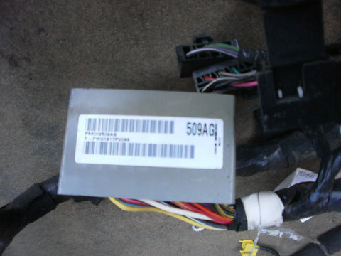 Jeep Wrangler TJ Wiring Cross Body Harness 1998 P56009509AG OEM Good Used 2.4 4.0 Fuse Box