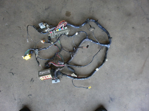 Jeep Wrangler TJ Wiring Cross Body Harness 2001 P56009509AM OEM Good Used 2.4 4.0 Fuse Box