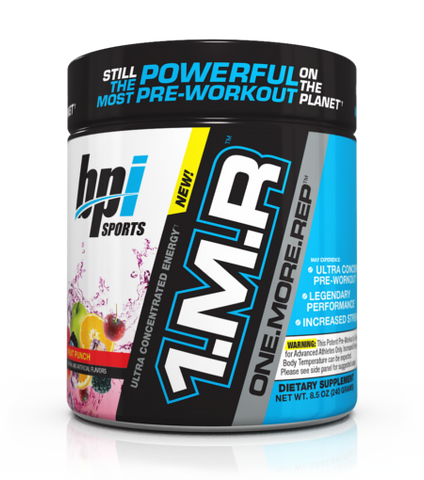 BPI Sports 1.M.R. Pre Workout 30 Servings ENERGY FOCUS ENDURANCE