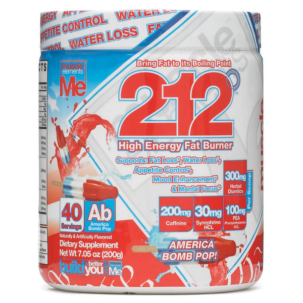 Muscle Elements 212 High Energy FAT BURNER Weight Loss Powder 40 Servings