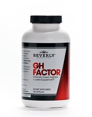 Beverly International GH FACTOR Arginine + Lysine Amino Acid 30 Servings