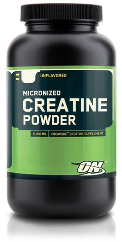 Optimum MICRONIZED CREATINE POWDER 300 grams Unflavored 60 Servings BUILD MUSCLE