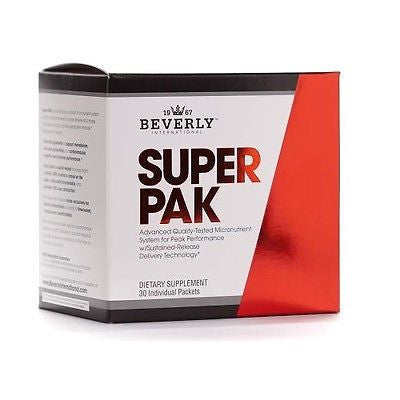 Beverly International SUPER PAK Athlete's Vitamin-Mineral  30 Packets MUSCLE VITAMINS