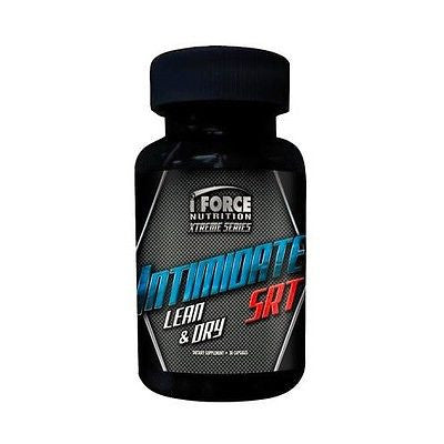 iForce INTIMIDATE SRT Estrogen Blocker Build Muscle Burn Fat 30 Capsules