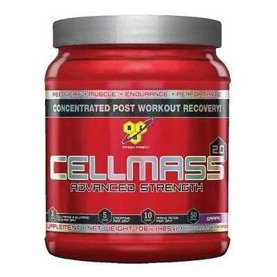 BSN CELLMASS 2.0 Concentrated Post Workout Recovery 50 Servings PICK FLAVOR