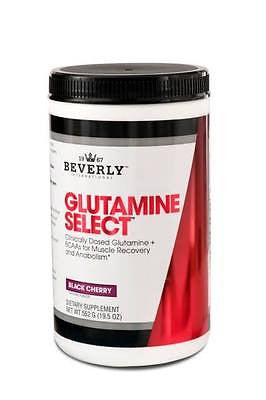 Beverly International Glutamine Select Plus BCAAs - 60 Servings BLACK CHERRY