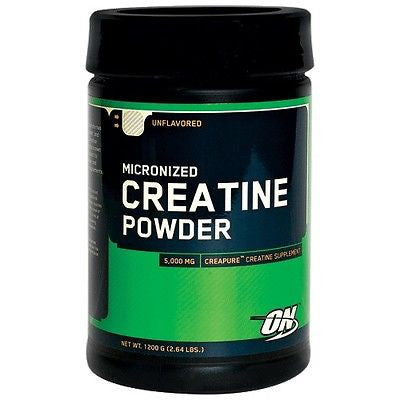Optimum Nutrition Micronized CREATINE POWDER Unflavored 1200g 240 Servings