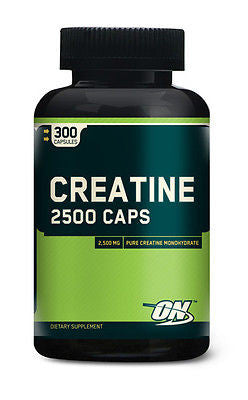 Optimum Nutrition CREATINE 2500 CAPS Strength Power Energy - 300 capsules
