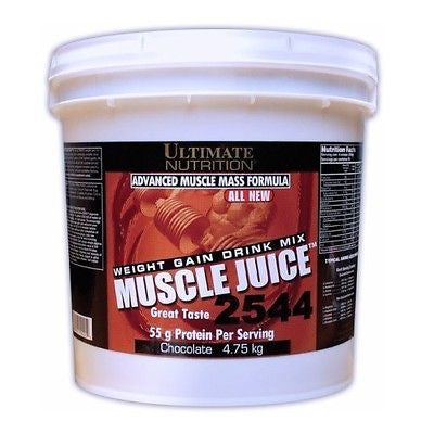 Ultimate Nutrition MUSCLE JUICE 2544 Weight Gainer Protein 10.45 lbs PICK FLAVOR