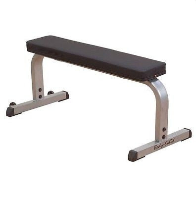 "Body Solid 2"" x 3"" COMMERCIAL FLAT EXERCISE WEIGHT BENCH GFB350"